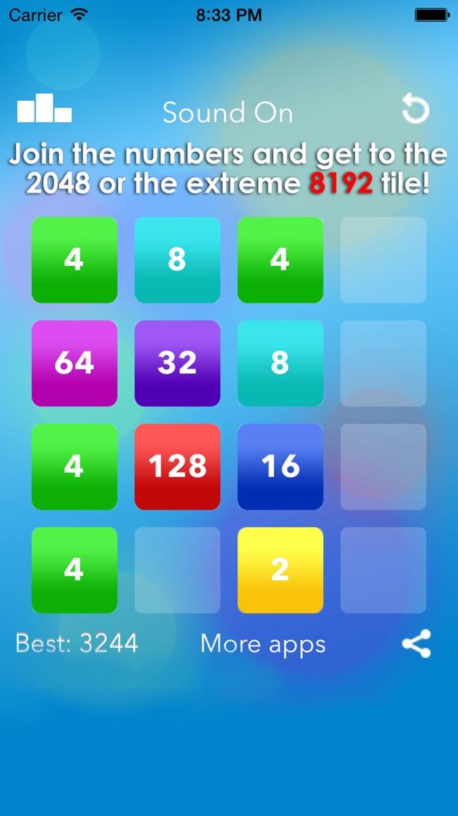 8192 Extreme 2048 Screenshot