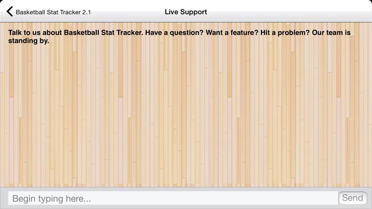 Basketball Stat Tracker screenshot-4