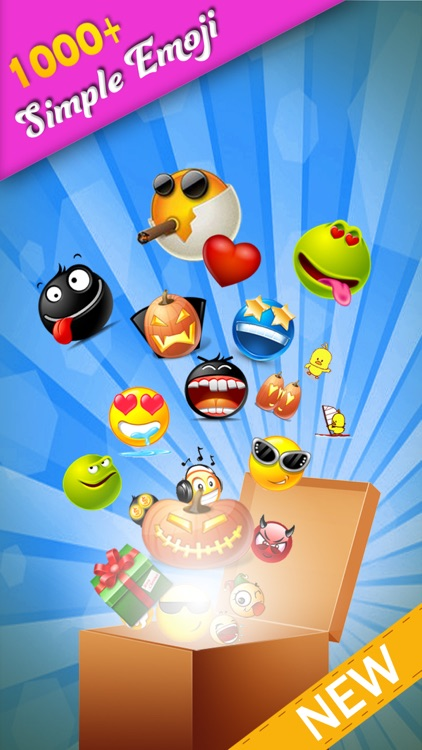 Simple Emoji Pro - Animated Emojis Icons plus Emoticons Art Keyboard