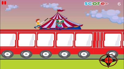 A Clash with Clowns - Super Funny Runner Escape FREE Screenshot on iOS