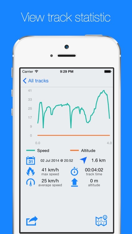 Route Map - Walking, Running and Cycling GPS Tracker with Offline Maps screenshot-3