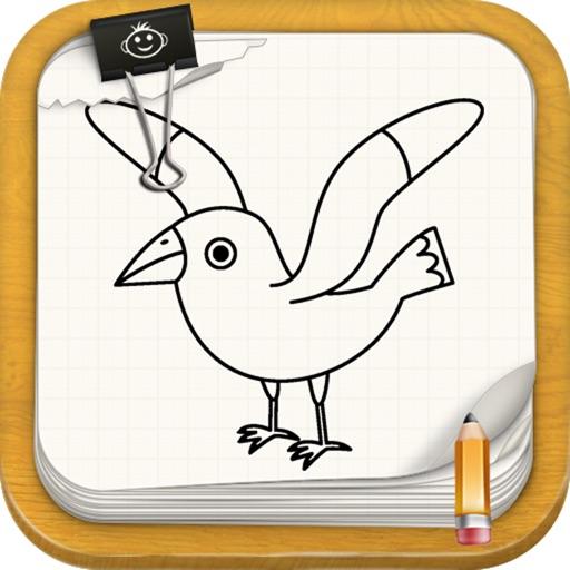 Learn To Draw : Birds