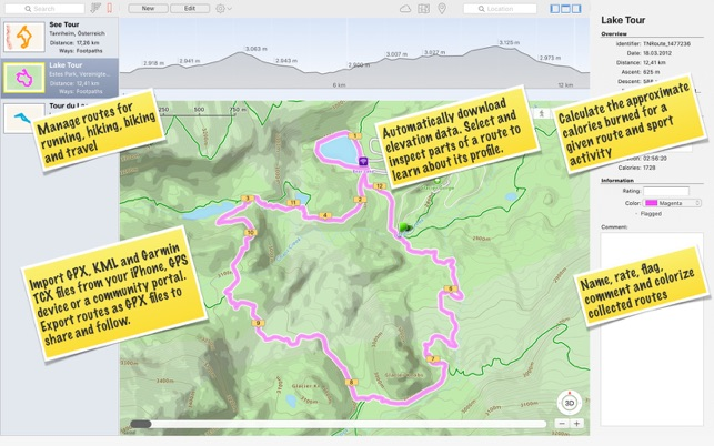 TrailRunner mini — GPX Viewer on the Mac App Store
