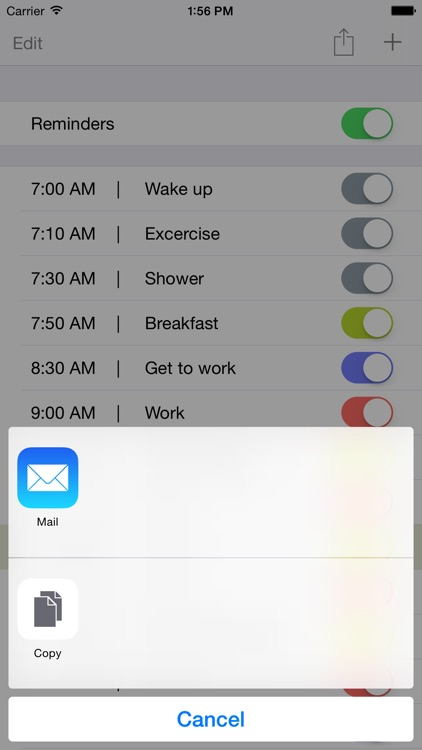 iDay - routine to do management app screenshot-4