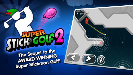 Super Stickman Golf 2 Screenshot
