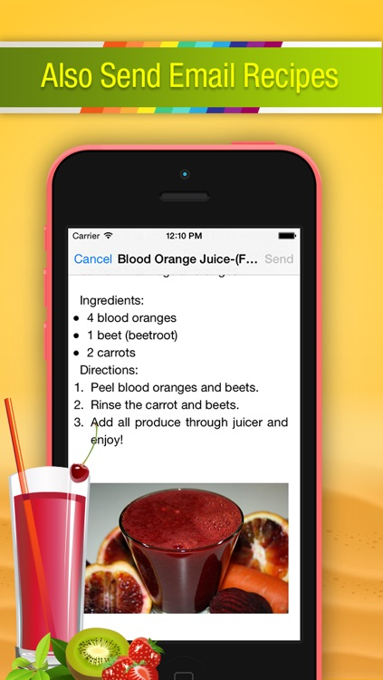Smoothie Fruits Juice Recipes - For a Healthy Body, Mind & Life screenshot-3