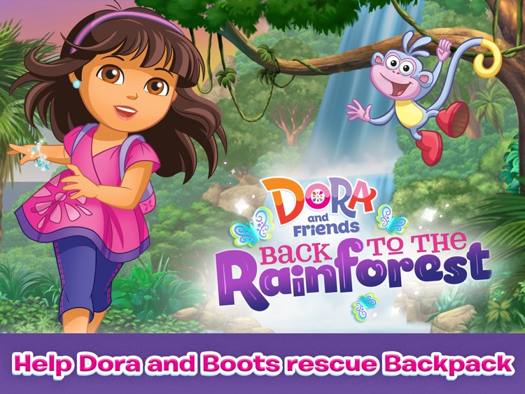 Dora and Friends Back to the Rainforest HD screenshot-0