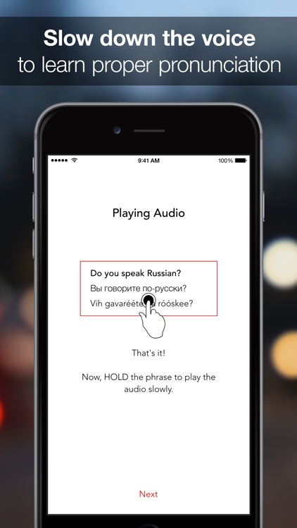SpeakEasy Russian ~ Offline Phrasebook and Flashcards with Native Speaker Voice and Phonetics screenshot-3