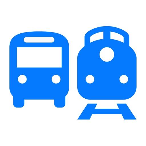 Bus & Trein: OV Planner, Metro, Tram, Veerboot, Bus en Trein openbaar vervoer tijden live en reizen plannen