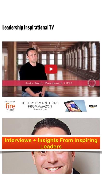 Leadership Inspirational Magazine - Leadership Skills and Productivity Secrets of Inspiring Leaders