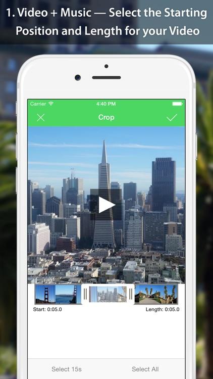 VideoSound — Add Music to Instagram Video