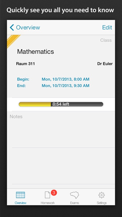 Class schedule - Your Assignment and School timetable screenshot-3