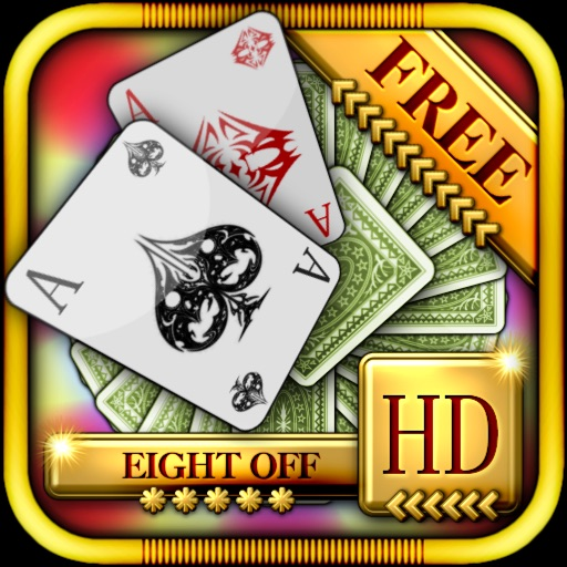 Eight Off Solitaire HD Free - The Classic Full Deluxe Card Games for iPad & iPhone