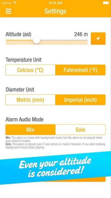 EggMaster – A sophisticated Egg Timer screenshot-3