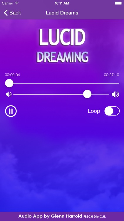 Lucid Dreaming Hypnosis by Glenn Harrold