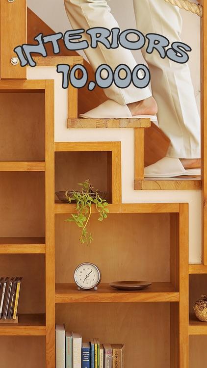 10,000 Interiors: Bedroom & Bathroom & Kitchen, Sauna & Pool, Loft & Patio
