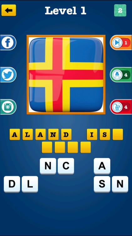 National Flag Quiz ~ Know all the country name of world wide Nations screenshot-3