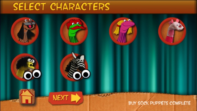 Sock Puppets on the App Store