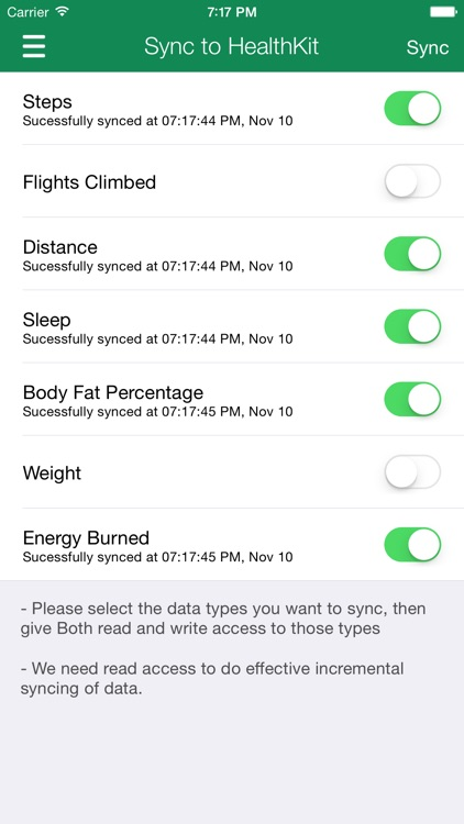Data Manager for Fitbit - Dashboard and Sync to Apple Health