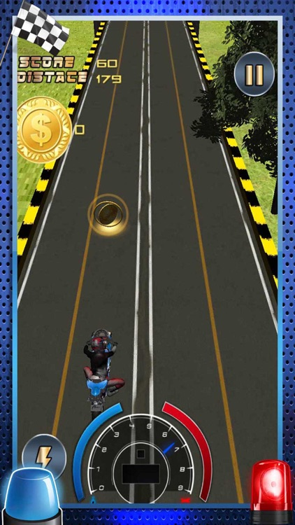 Nitro Crazy Lane Moto Bike Rider - Highway Motorcycle Traffic Stunt Street Drag Endless Race Game screenshot-4