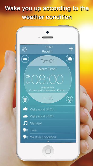 Genius Alarm- Weather Smart Alarm Clock, Set up wake-up alarms according to the weather forecast!のおすすめ画像1