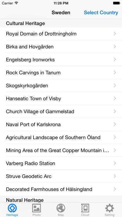 World Heritage in Sweden