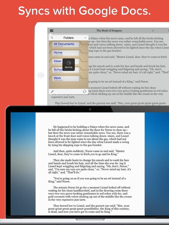 My Writing Desk - Creative writer. Write & take notes! screenshot-3