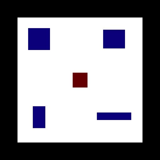 Не ударить красный прямоугольник