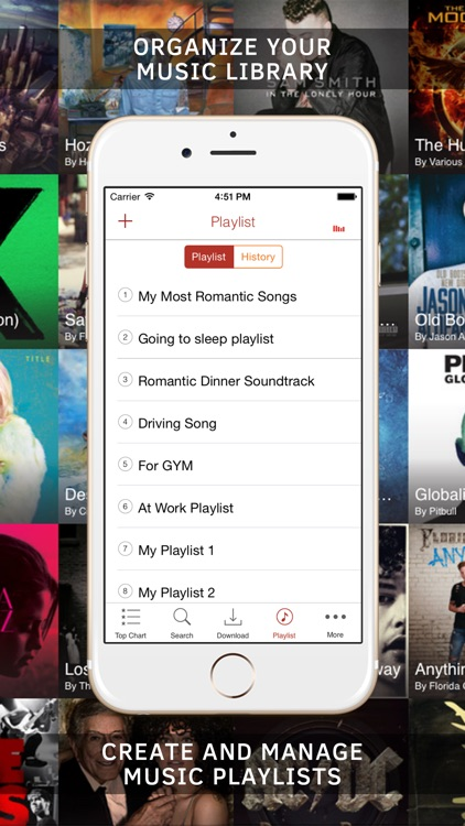 Free music discovery for iOS 8: mp3 player & audio playlist manager