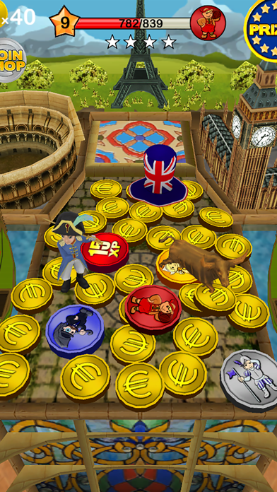 Coin Dozer - World Tour by Game Circus LLC (iOS, United States