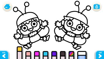【無料版】ぶんぶんぶん ~ぬりえで遊べる赤ちゃん・子供向けのアニメで動く絵本アプリ:えほんであそぼ!じゃじゃじゃじゃん童謡シリーズのおすすめ画像4