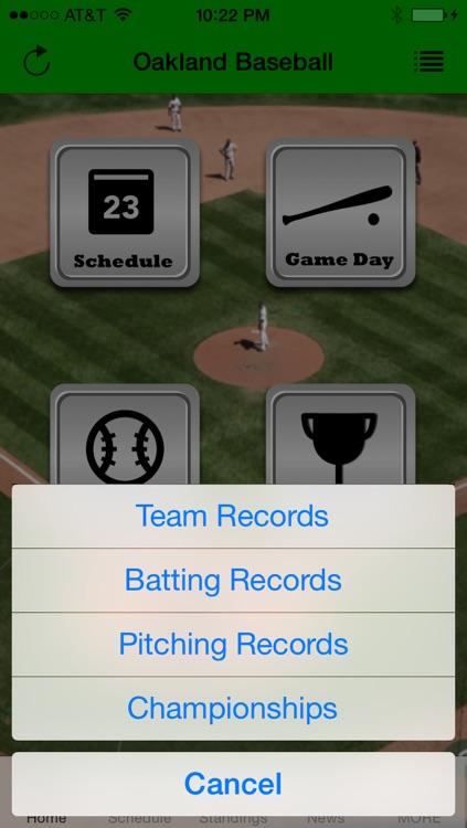 Oakland Baseball - an Athletics News App screenshot-4