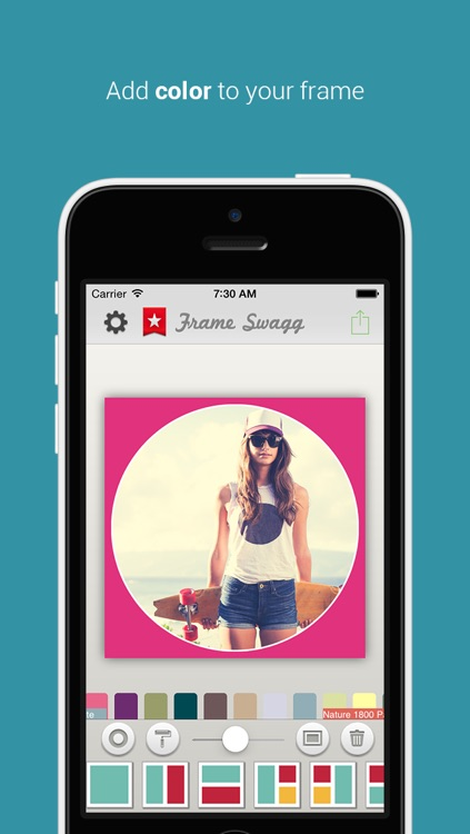 Frame Swagg Pro - Photo collage maker to stitch pic for Instagram