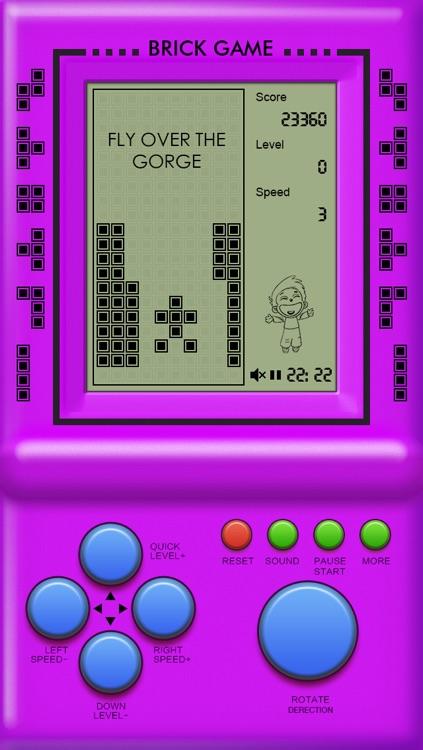Classic Brick Game Collection screenshot-3