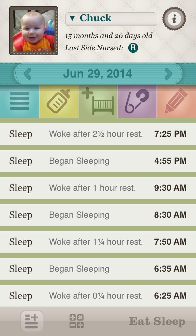 Eat Sleep: Simple Baby Tracking Screenshot