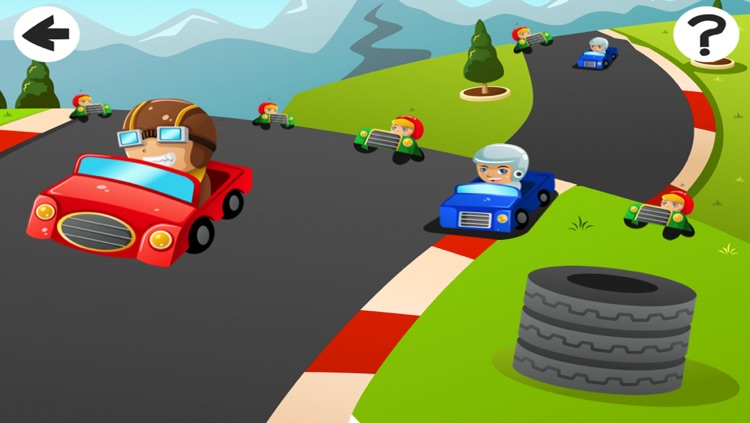 A Cars and Vehicles Learning Game for Pre-School Children screenshot-3