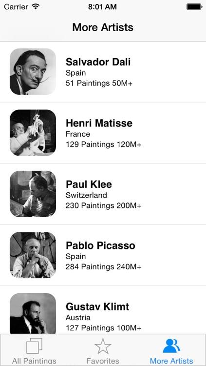 Joan Miró 128 Paintings HD Ad-free (Joan Miro) screenshot-4