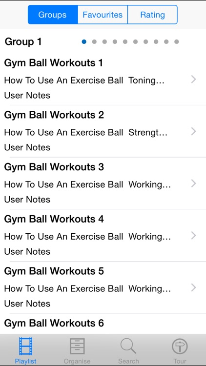 Gym Ball Workouts!