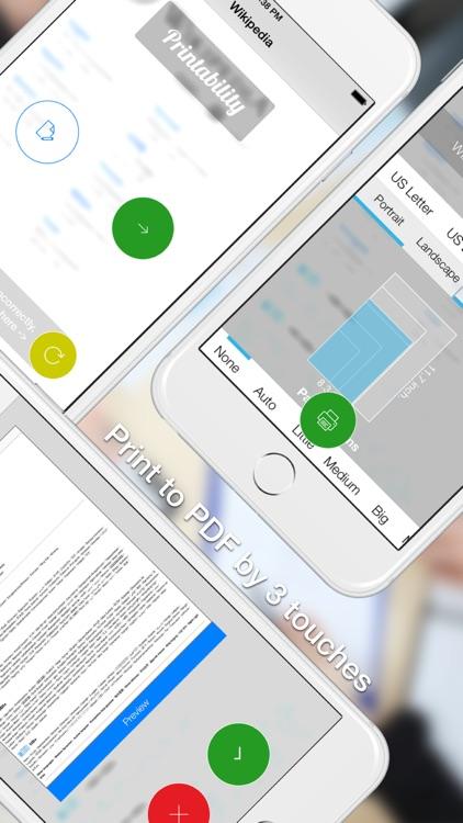 Printability - print Safari page to PDF screenshot-4