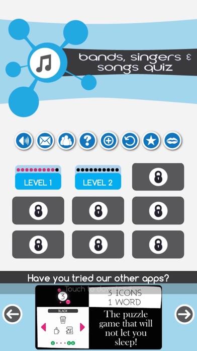 Bands, Singers & Songs Quiz screenshot four