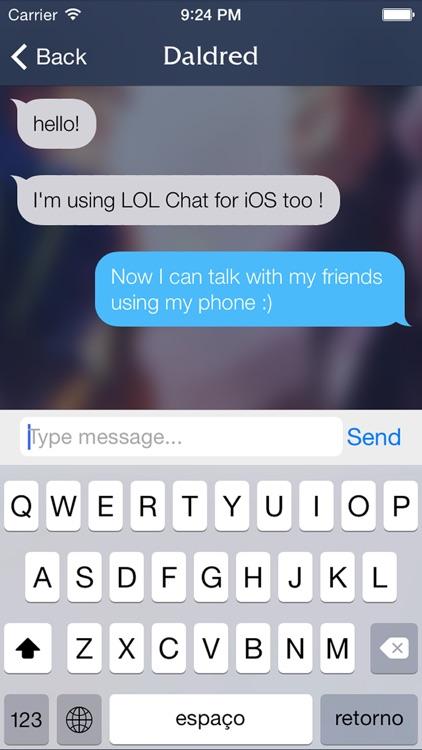 Chat for LOL screenshot-3