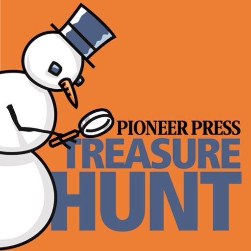Pioneer Press Treasure Hunt iOS App