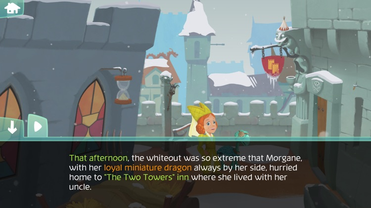 The Amazing Quest, the forgotten treasure - An adventure game for kids