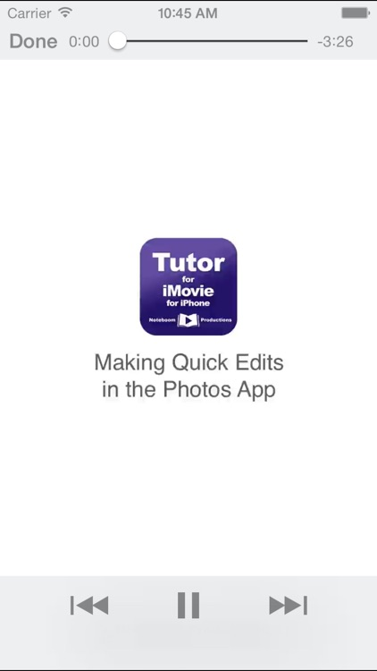 Tutor for iMovie for iPhone screenshot-3