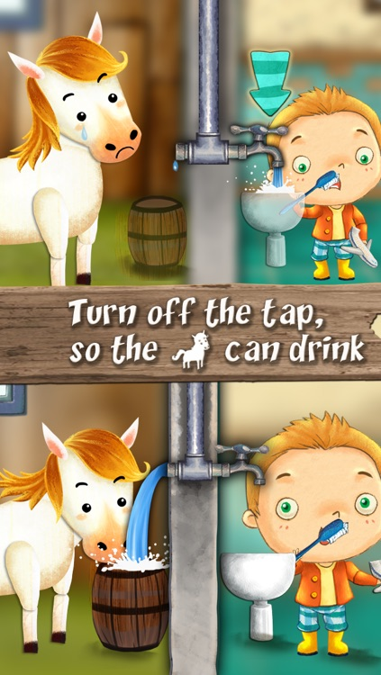 Nature : Bert Save the Earth,  The story app for boys and girls to learn simple actions to protect the planet screenshot-2
