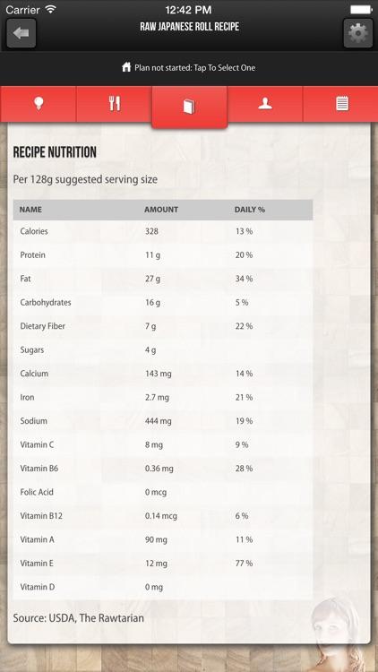 Rawtarian's Raw Meal Plans screenshot-3