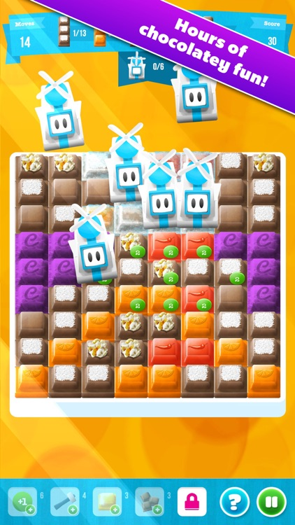 Choco Blocks Free by Mediaflex Games screenshot-1