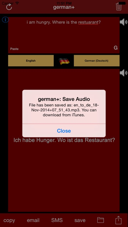 german+: German & English Translator and Translation Engine screenshot-2