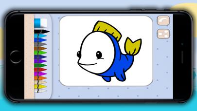 点击获取Color aquatic and sea animals - coloring books