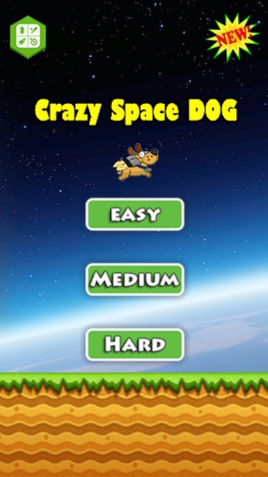 Crazy Space Dog